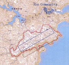 琉球新報に掲載された計画図